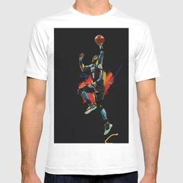 Kyrie Basketball Sports Star Brooklyn Net T-shirt