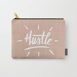 Hustle Rose Gold Carry-All Pouch