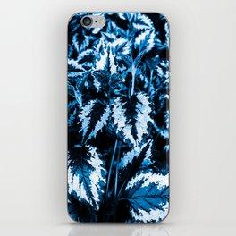 Flora exotica - midnight iPhone Skin