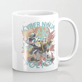 CYBER NINJA POLICE Coffee Mug
