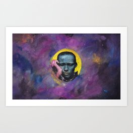 Bleh! Art Print