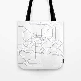 Seoul Subway Tote Bag