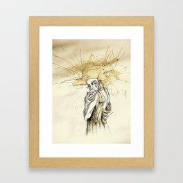 Coffee Jitters Framed Art Print