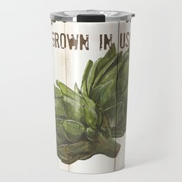 Vintage Fresh Vegetables 2 Travel Mug