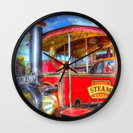 Foden Steam Lorry Art Wall Clock