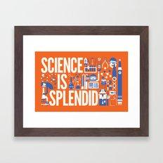 Science is ... Framed Art Print