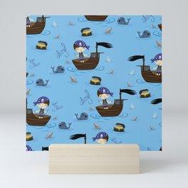 Pirate Story Mini Art Print