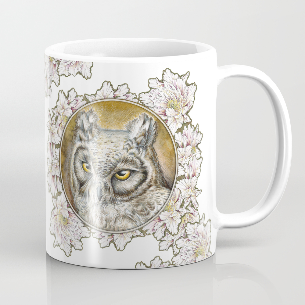 Barn Owl Coffee Cup by Heliocyan MUG2379638
