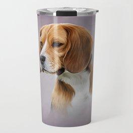Drawing Dog Beagle 11 Travel Mug