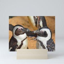 African penguins Mini Art Print