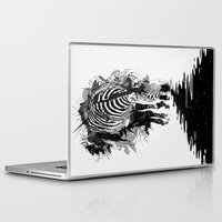 stripe Laptop & iPad Skins featuring Stripe Charging by nicebleed