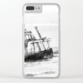 shipwreck aqrebw Clear iPhone Case