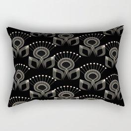 Art Deco 34 . The bird's tail . Rectangular Pillow