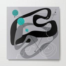 50s Inspired 7 Metal Print