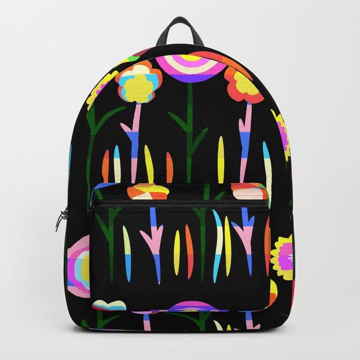 Happy flowers in spring Backpack