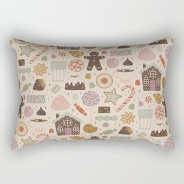 In the Land of Sweets Rectangular Pillow