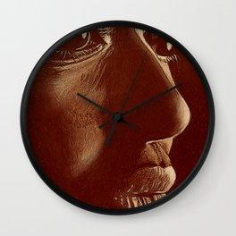 mama africa- brown Wall Clock