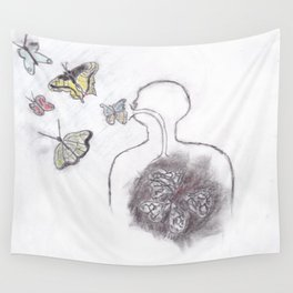 Butterfly Culture Wall Tapestry