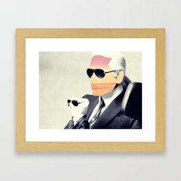 Insurgent Karl Framed Art Print