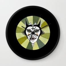 Cat Color Wheel No. 2 Wall Clock