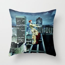 The Air Between my Fingers Throw Pillow