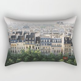 Paris landscape Rectangular Pillow