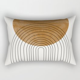 Abstract Flow Rectangular Pillow