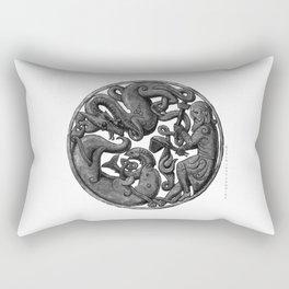 Three Brothers Rectangular Pillow