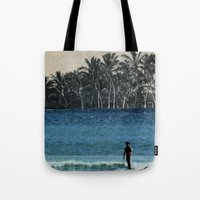 aloha Tote Bags featuring Aloha by cause defect