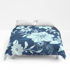 Flower time Comforters