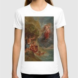 "Eugène Delacroix ""Winter from a series of the Four Seasons (Juno and Aeolus)"" T-shirt"