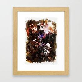 Blood Moon JHIN Framed Art Print