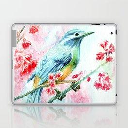 Exotic Blue bird Laptop & iPad Skin