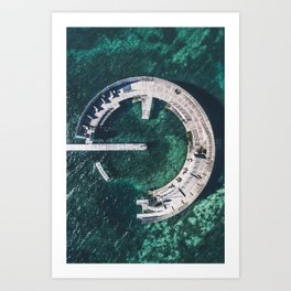 Kastrup Sea Bath Art Print
