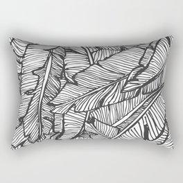 Black & White Jungle Rectangular Pillow