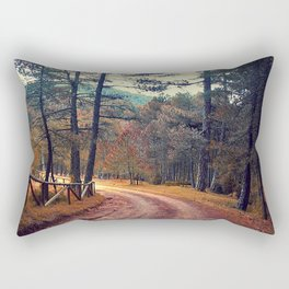 in the wood Rectangular Pillow