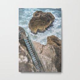 STAIRWAY  TO OCEAN Metal Print