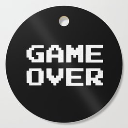 Game Over Cutting Board