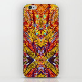 Carnival of Leaves iPhone Skin