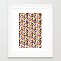 diamonds Framed Art Prints featuring Diamonds by Wharton