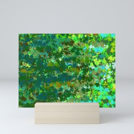 Green II - Forest Mini Art Print