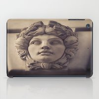 no face iPad Cases featuring Face by Blue Lightning Creative