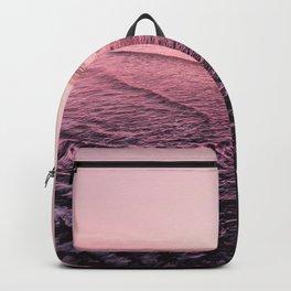 Rose Gold Beach Sunset Backpack