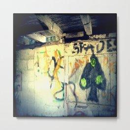Spades - The Rural Graffiti Series Metal Print