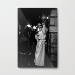Street Performer, Rome, 2011 Metal Print