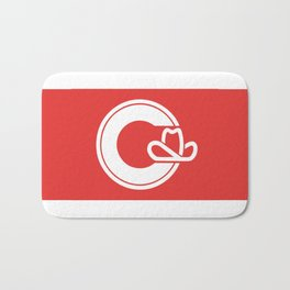 Flag of Calgary Bath Mat