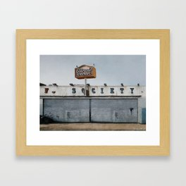 El Dorado Arcade - F Society - Mr Robot Framed Art Print