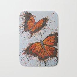 Melody of the Butterflies Bath Mat
