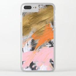 Sarcanogus Clear iPhone Case