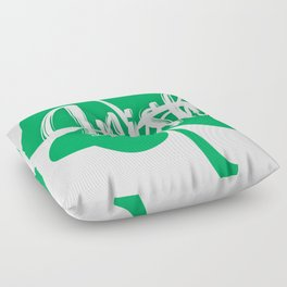 Irish or Nah Funny St. Patrick's Day Shirt Floor Pillow